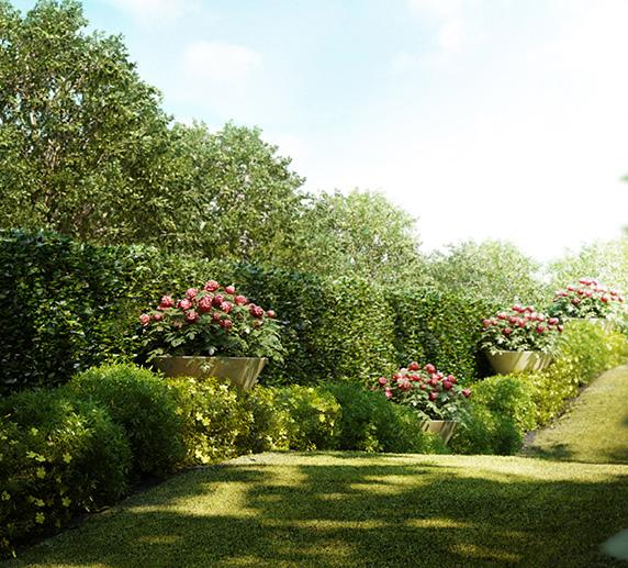Embassy ONE Residences - Amenities - Garden