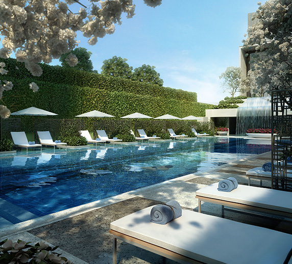 Embassy One Residences - Amenities - Swimming Pool